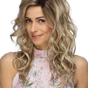 Long Synthetic Lace Front Wig For Women