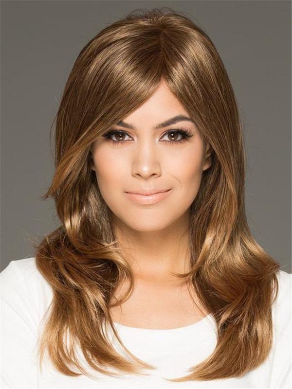 Brunette Brandi Synthetic Wig Mono Top
