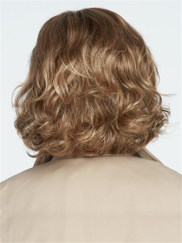 Short Synthetic Lace Front Wig Mono Part For Women