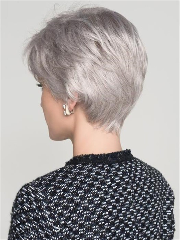 Short Straight Synthetic Lace Front Wig Ht For Women
