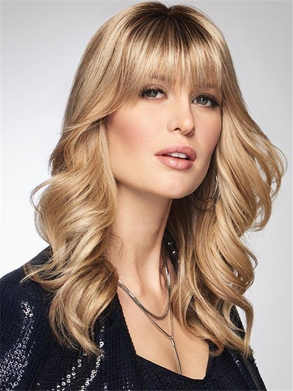 Chameleon Synthetic Clip In Bangs Hair Topper Bangs Half