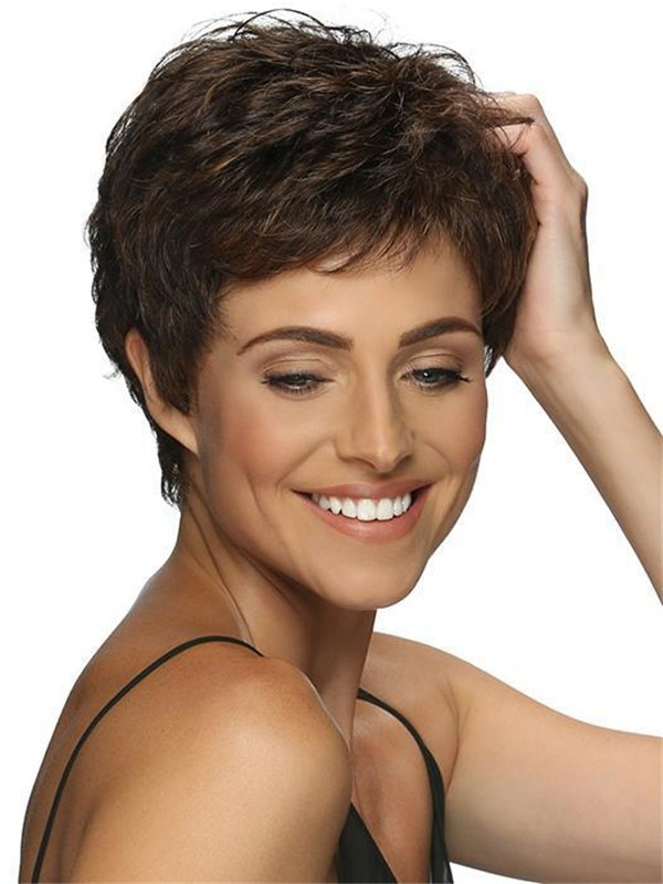 Short New Arrivals Charlee Synthetic Wig Basic Cap