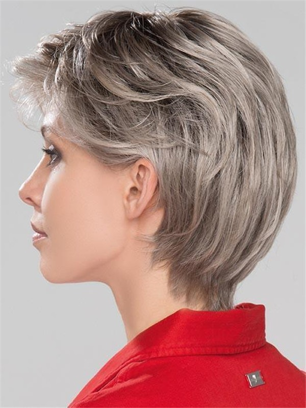 Short Citta Synthetic Lace Front Wig Rooted For Women