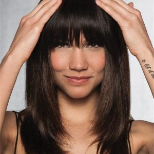 Clip-In Human Hair Fringe Bang Human Hair