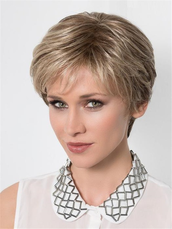 Close Half Synthetic Lace Front Hair Topper