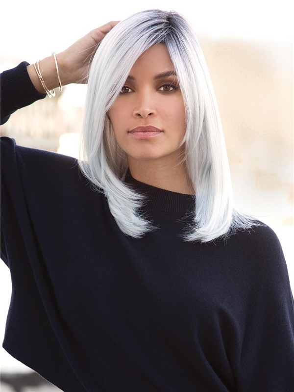 Long Straight Synthetic Lace Front Wig For Women