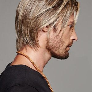 Short Daring Synthetic Lace Front Wig For Men