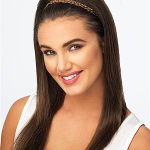 Double Braid Synthetic Headband All Hairpieces