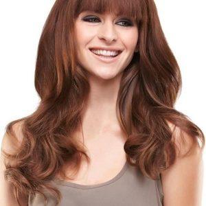 Half Colors Human Hair Topper Mono Part