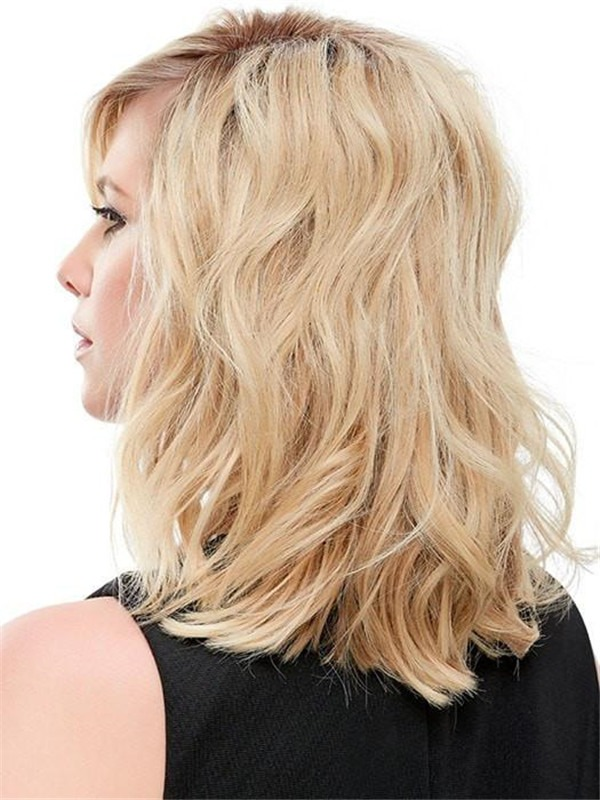 """Easipart Hh 12"""" Remy Human Hair Topper Half"""