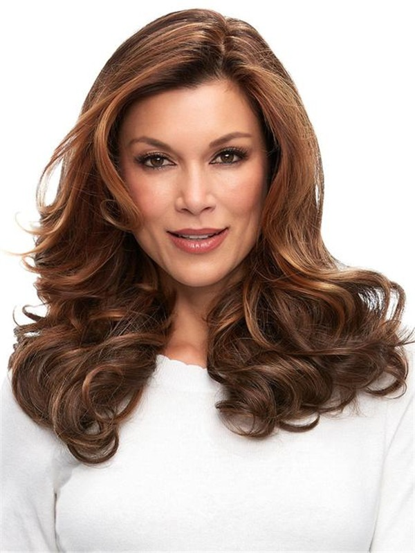 Easipart French Human Hair Topper Half Falls