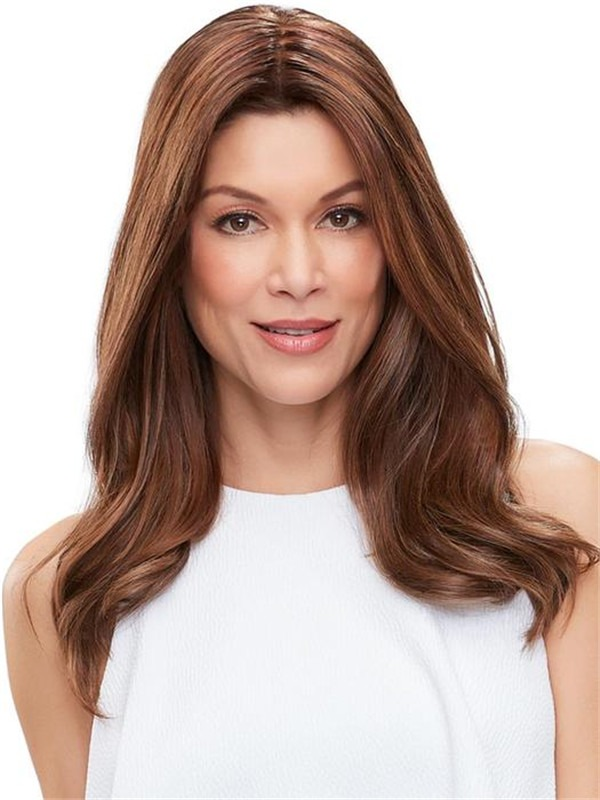 Easipart French Human Hair Topper Half