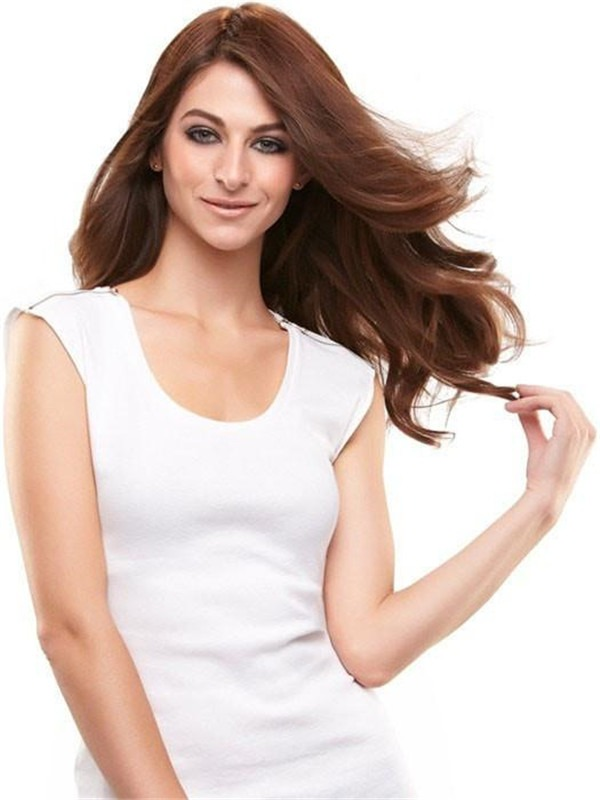 """Easipart Hd 12"""" Synthetic Hair Topper Half"""