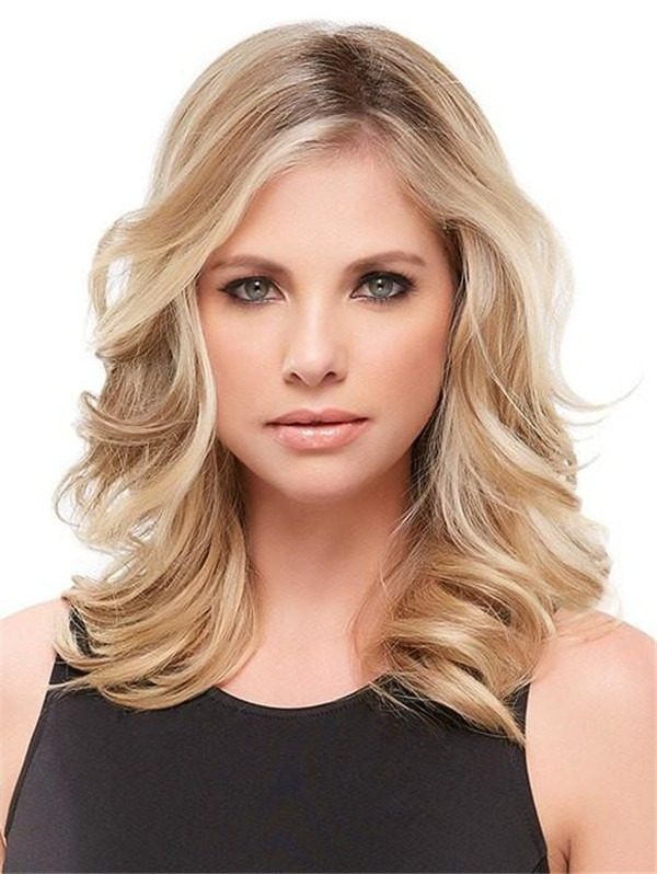 Easipart Synthetic Hair Topper Mono Half