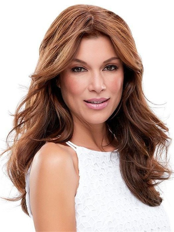 Exclusive Colors Remy Human Hair Topper Half