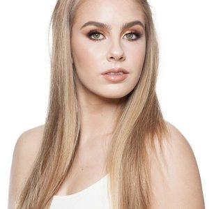 Fall-H Human Hair Half Wig Clip All Hairpieces