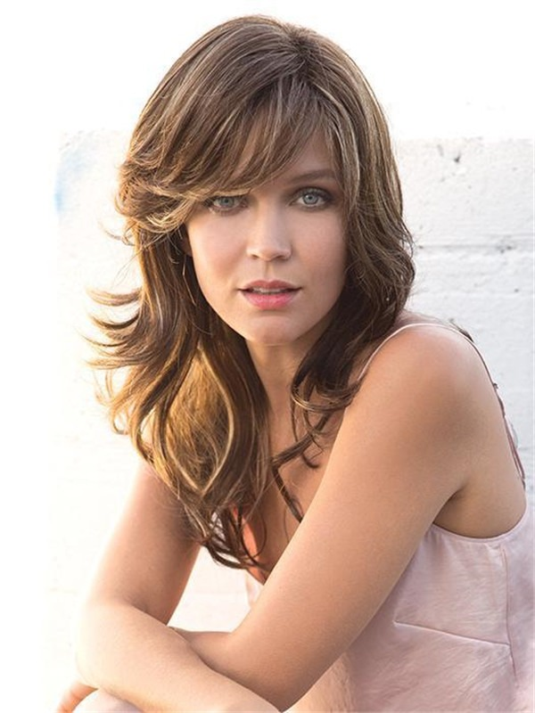 Long Felicity Synthetic Wig Basic Cap For Women