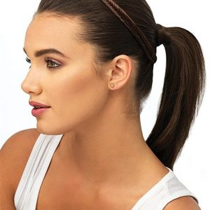 Fishtail Braid Headband Synthetic All Hairpieces
