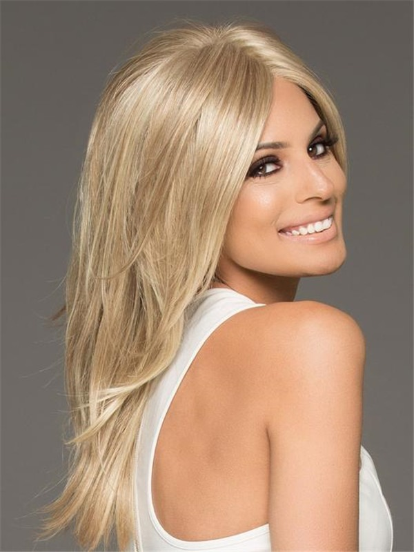 Long Synthetic Lace Front Wig Hand-tied For Women