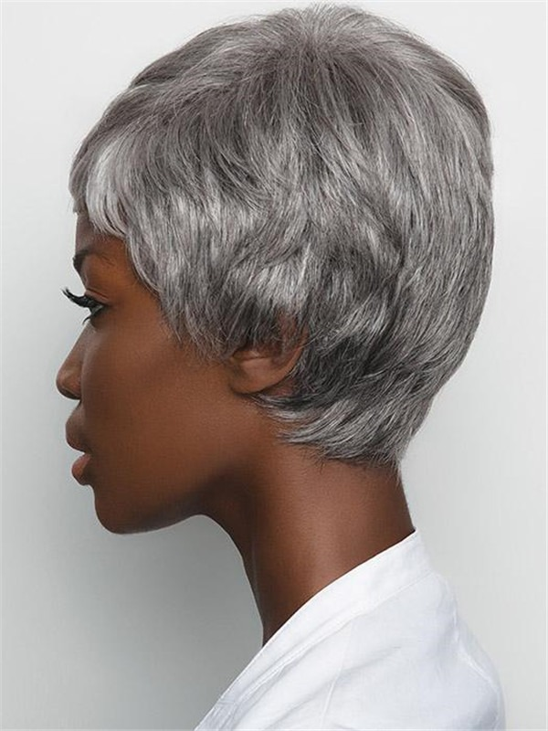 Short Straight Gabby Synthetic Wig Basic Cap For Women