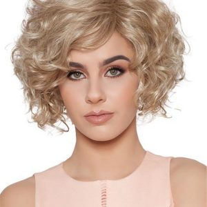 Curly Rooted Heidi Synthetic Wig For Women