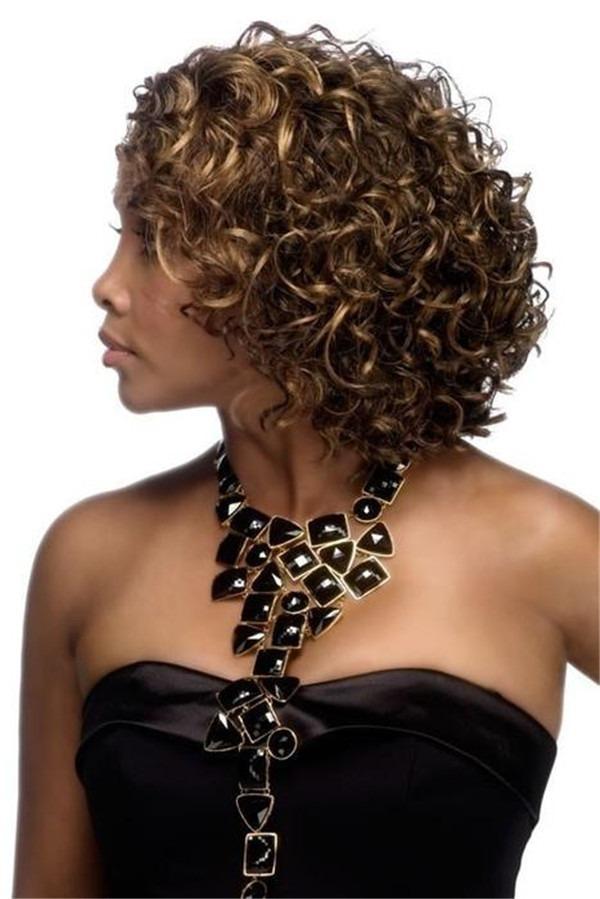 HW370 Synthetic Half Wig Half All Hairpieces