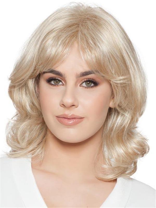 Wavy Brunette Iris Synthetic Wig For Women