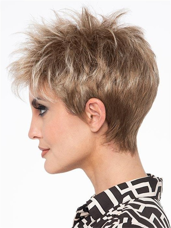 Short Straight Ivy Synthetic Wig Basic Cap For Women
