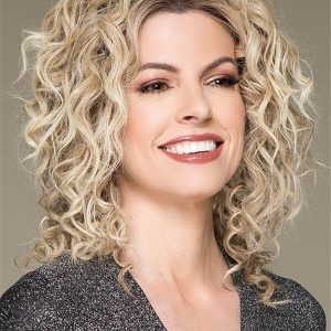 Long Mid-length Human Hair Lace Front Wig For Women