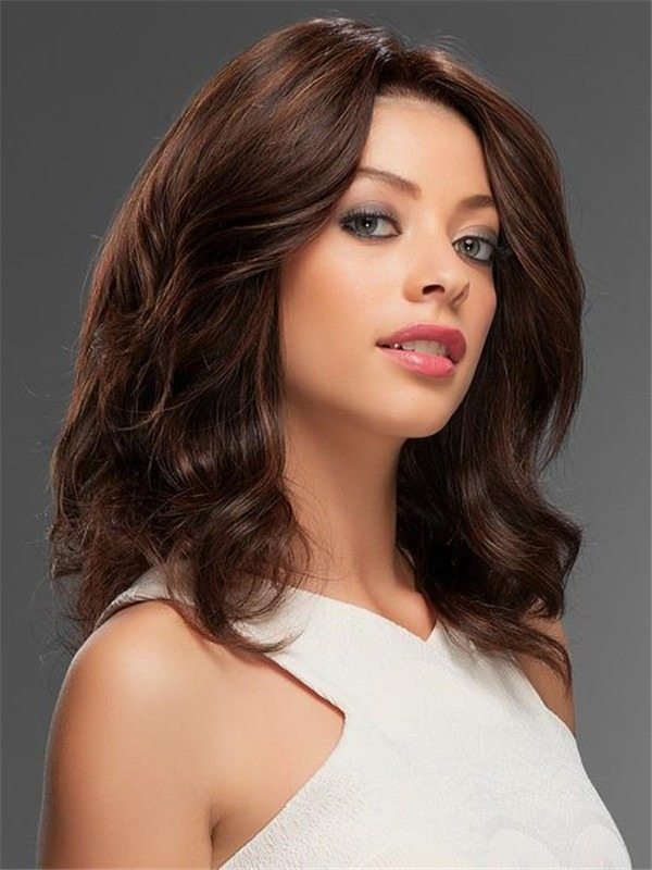 Long Straight Human Hair Lace Front Wig For Women