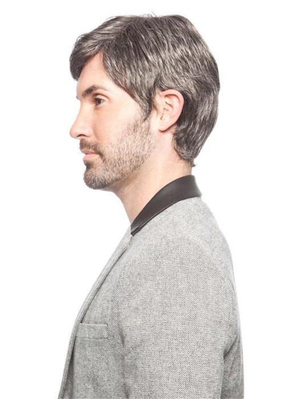 Short Jr Synthetic Wig Basic Cap For Men