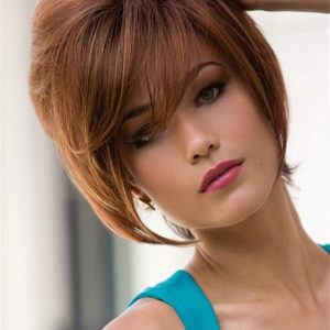 Short Kate Synthetic Wig Basic Cap Rooted For Women