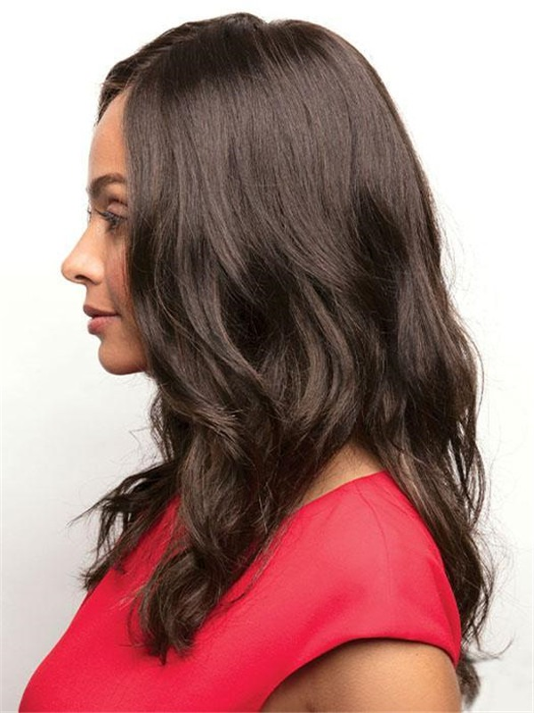 Rooted Synthetic Lace Front Wig For Women