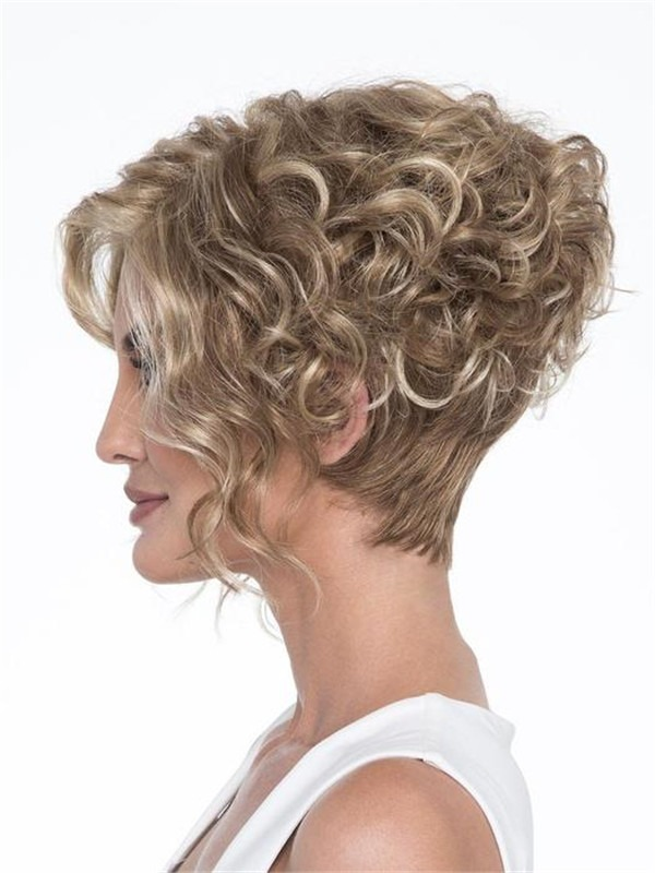 Curly Kelsey Synthetic Wig Basic Cap For Women