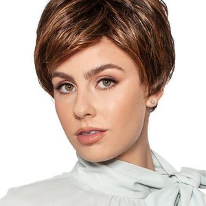Short Layered Synthetic Wig For Women
