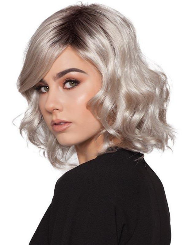 Short Curly Wavy Synthetic Wig
