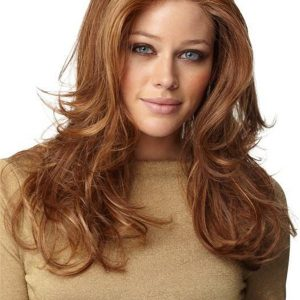 Straight HF Synthetic Lace Front Wig Mono Top