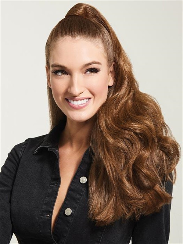 """23"""" Long Wave Synthetic Ponytail All Hairpieces"""