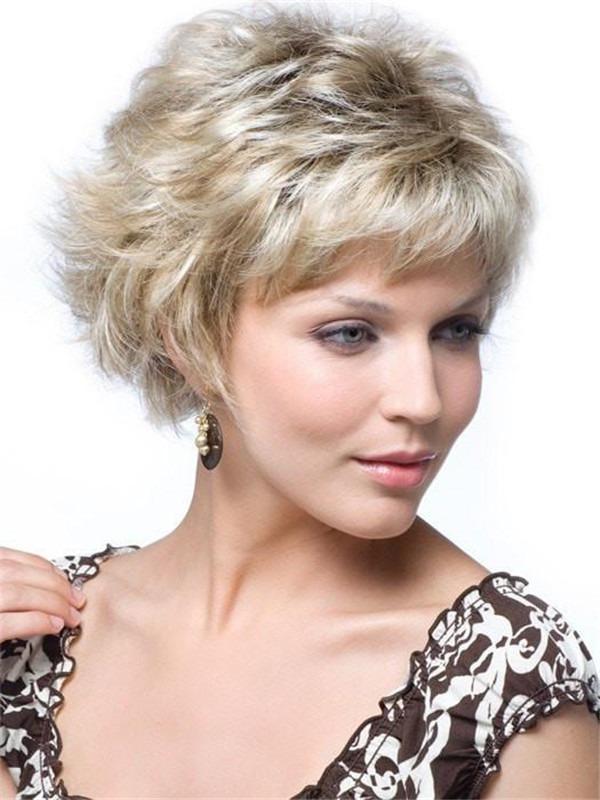 Short Mason Synthetic Wig Basic Cap For Women