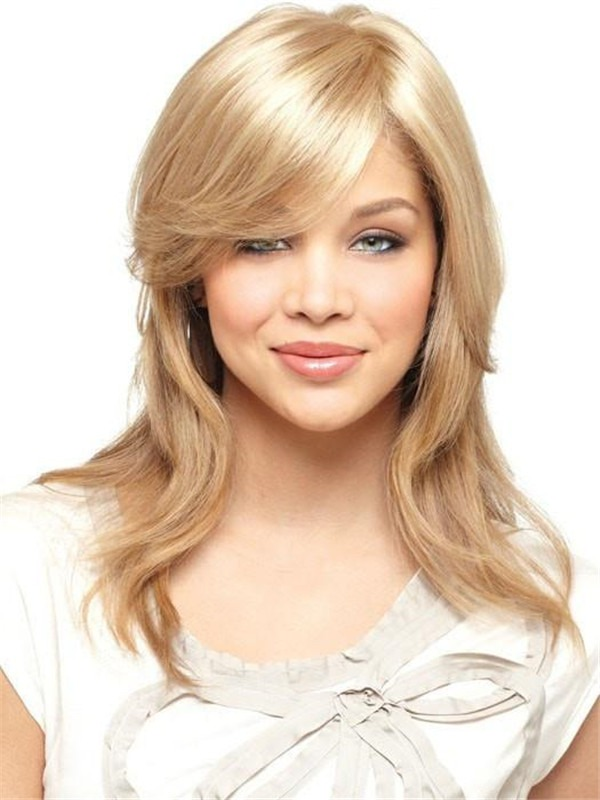 Md Mono Top Piece Synthetic Hair Topper Half