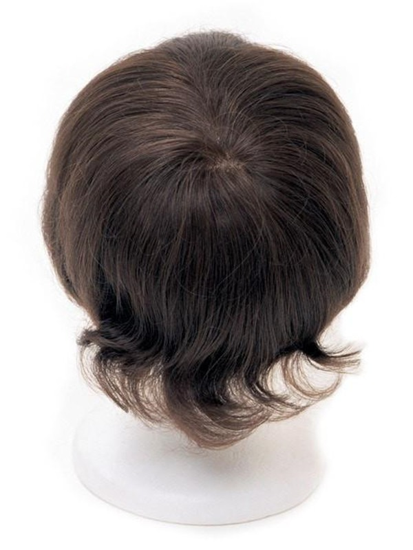 Men's System 7 X 10 Human Hair Topper Half