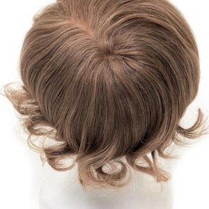 Men's System 8 x 9 Human Hair Topper Half