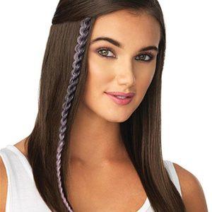 Metallic Braid Synthetic Hair Extension