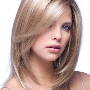 Milan Gradient Synthetic Hair Topper Half