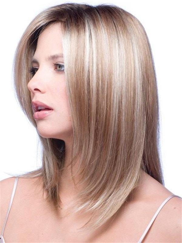 Milan Gradient Synthetic Hair Topper Half