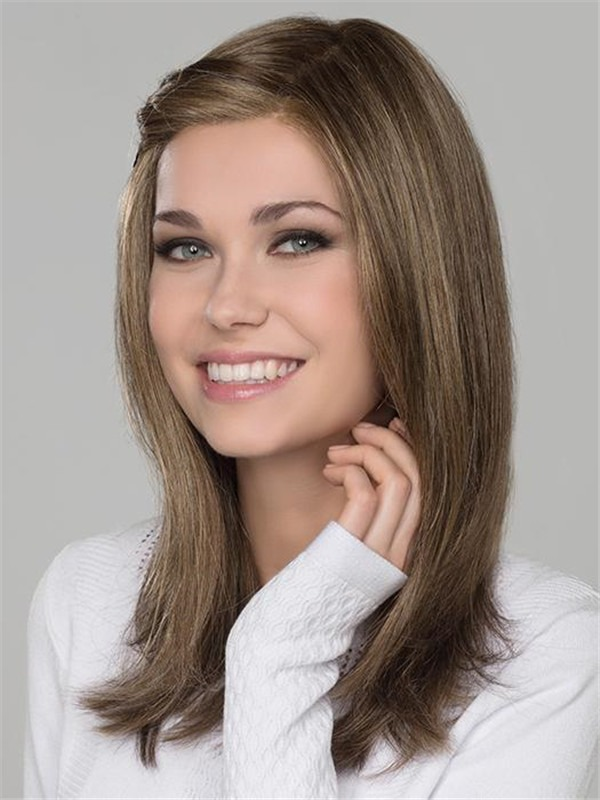 Long Synthetic Lace Front Wig Mono Part For Women