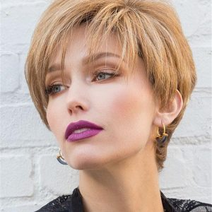 Modern Top Piece Synthetic Hair Topper Half