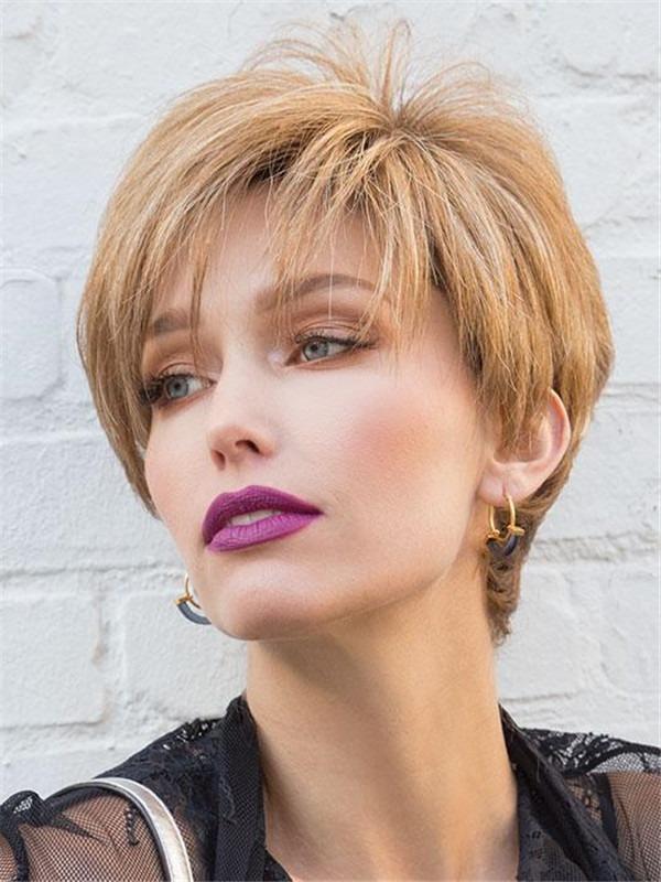 Modern Top Piece Synthetic Hair Topper Half