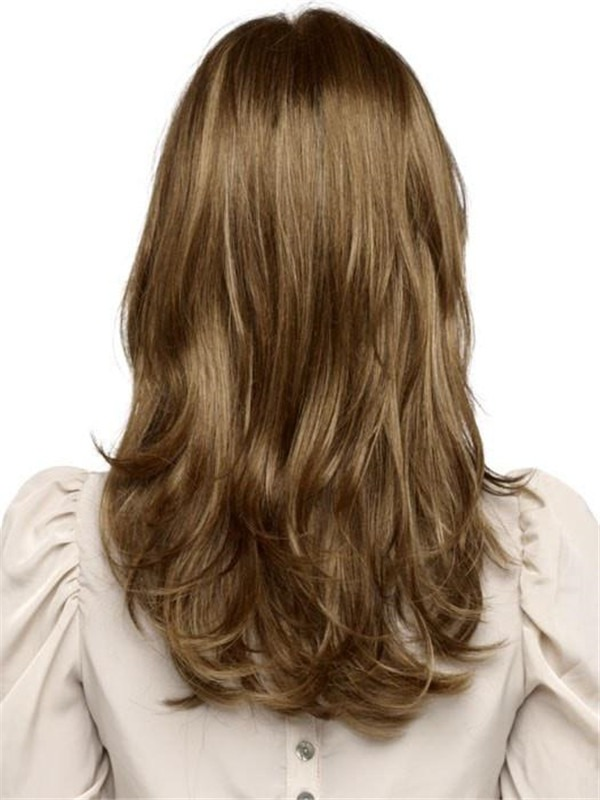 Long Straight Synthetic Lace Front Wig Basic Cap For Women