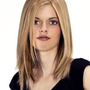 Mono Top-H Human Hair Topper Half